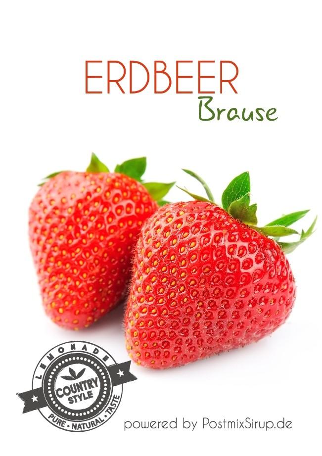 Erdbeer-Brause Postmix 10l