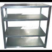 Postmix-Maschinentisch-Bag-in-box-Regal