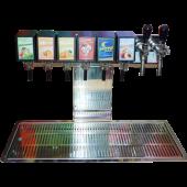 Postmix Schanksäule 6er + 2 Bier
