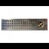 Einlass-Tropfblech / Tropfschale für Thekenbereich 100 x 22cm - gebraucht