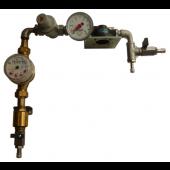 Wasserfilterstation mit Wasserzaehler